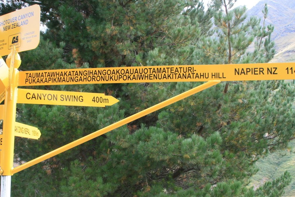 Ten Ridiculously Long Place Names in the World