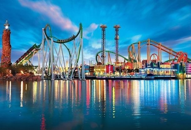 3. Universal's Islands of Adventure, Orlando, Florida