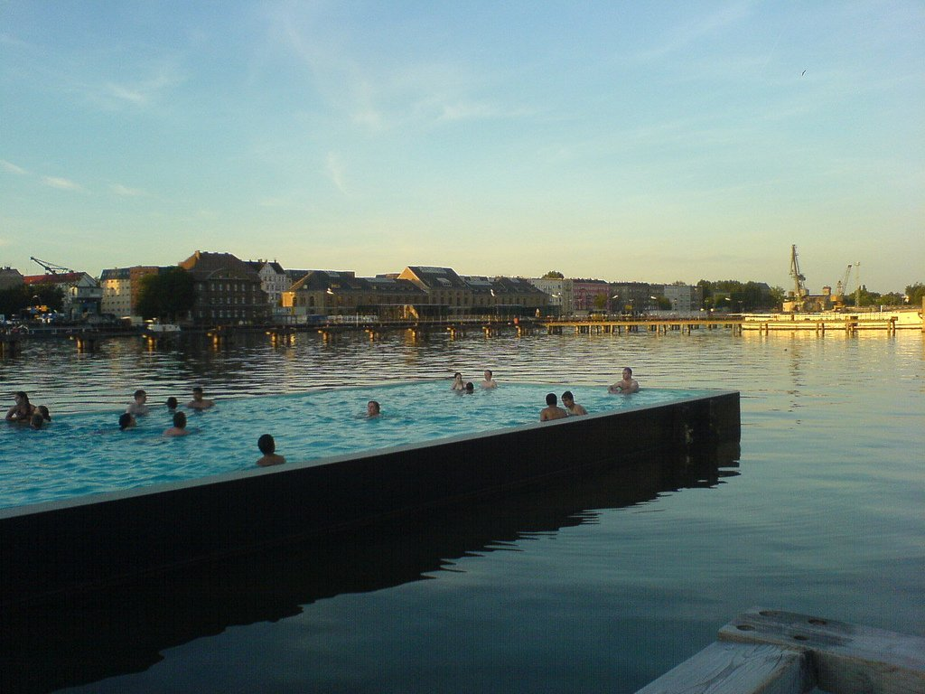 Badeschiff, Germany Extra-ordinary and Exceptional Pools; Soak Yourself Up