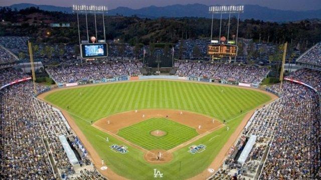 Dodger Stadium, Los Angeles, California, USA