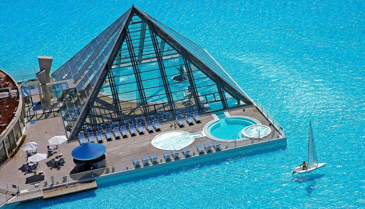San Alfonso Del Mar Resort, Chile Extra-ordinary and Exceptional Pools; Soak Yourself Up