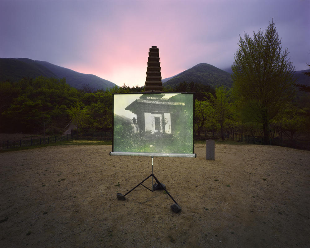 15.Sungseok Ahn's 'Historic Present' questions the memory of past from the fast changing scenery of today. By overlapping a historical location with an old image of that exact place, he questions the way we treat our history and explores the dynamics. (Sungseok Ahn/Sony World Photography Awards)