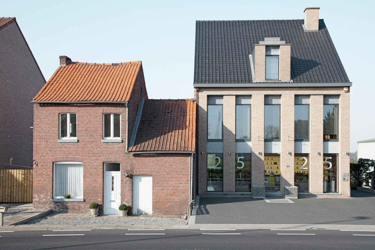 22.'Neighbours' is a series showcasing typical Belgian double houses, taken by Herman Van Den Boom. As a finalist in the Architecture category, Van Den Boom frames perfectly the individuality behind every property. Every single building is an expression of uniqueness, judges say. (Herman Van Den Boom/Sony World Photography Awards)
