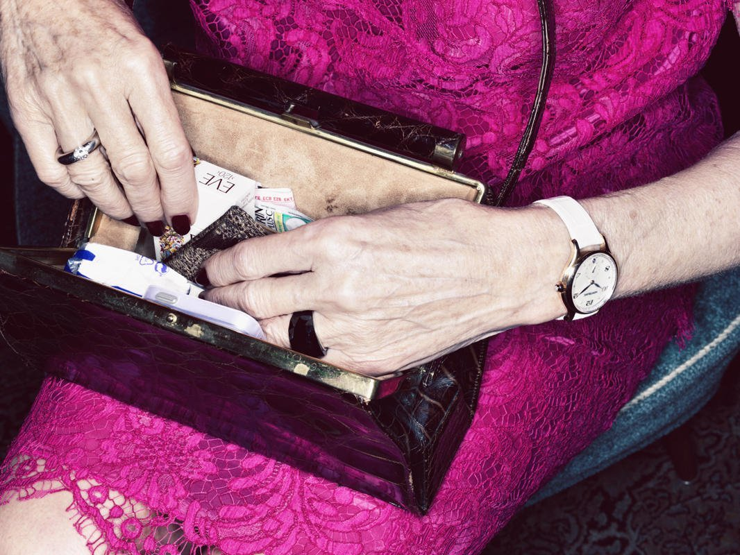 5.Kai Uwe Gundlach, from Germany, is a finalist in the Still Life awards for this simple picture of a woman looking through her purse, from the photography series entitles 'Timeless' (Kai Uwe Gundlach/Sony World Photography Awards)