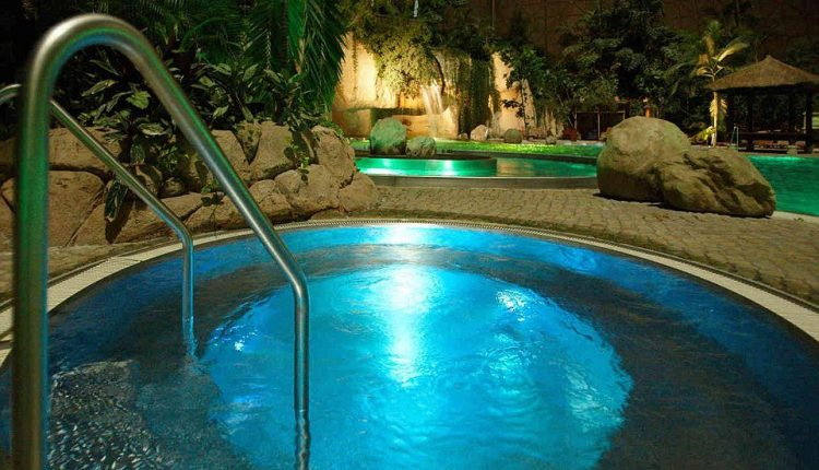 Tropical Islands, Germany Extra-ordinary and Exceptional Pools; Soak Yourself Up