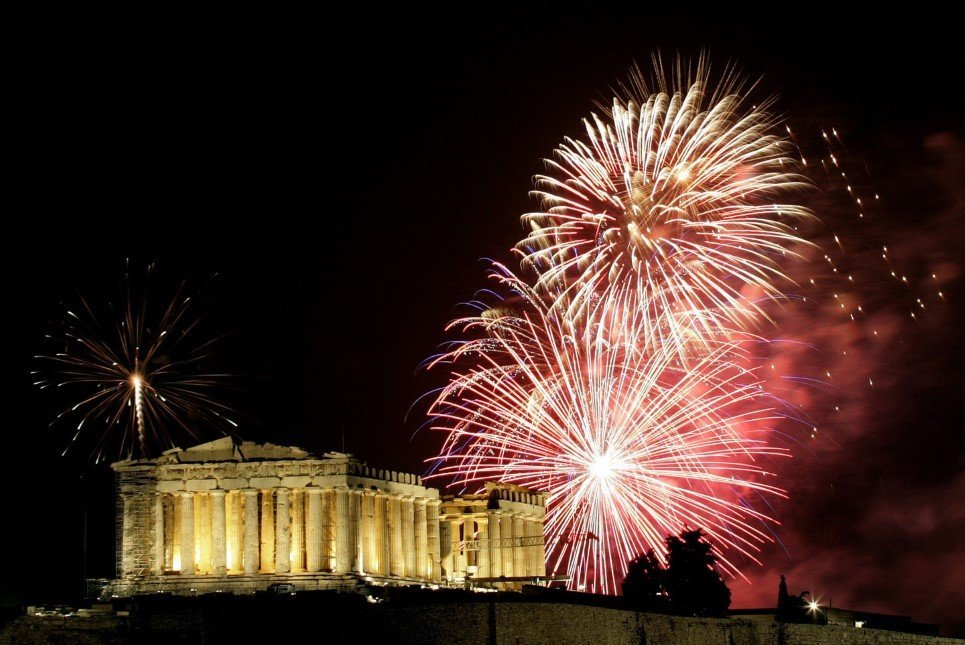 Athens New Year's Eve