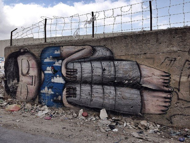Bethlehem Palestine (2) Best Places To Witness Some Amazing Pieces of Street Art