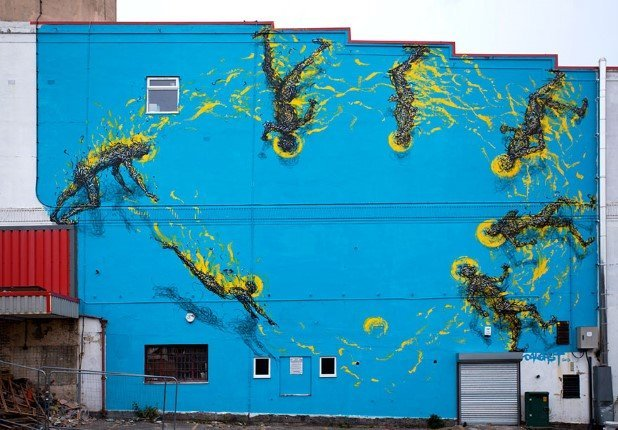 Bristol United Kingdom (1) Best Places To Witness Some Amazing Pieces of Street Art