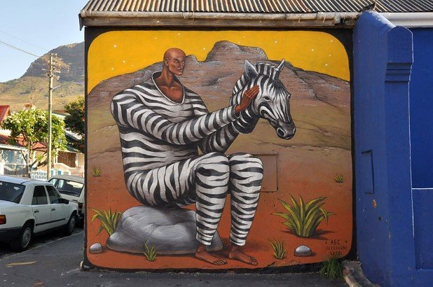 Cape Town, South Africa (2) Best Places To Witness Some Amazing Pieces of Street Art