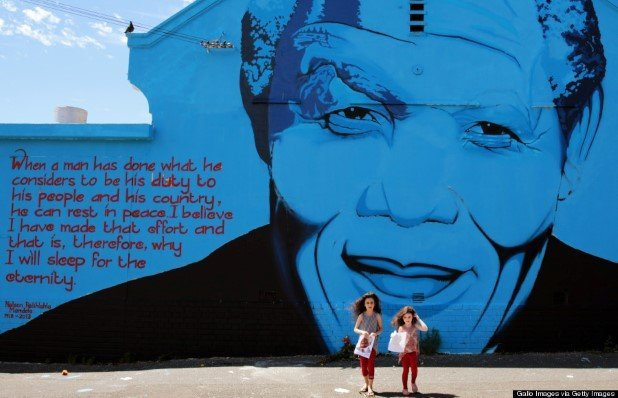 South Africa Mourns Death Of Nelson Mandela