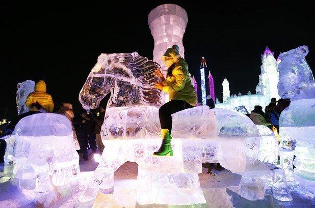 Harbin International Ice and Snow Festival 2015 16