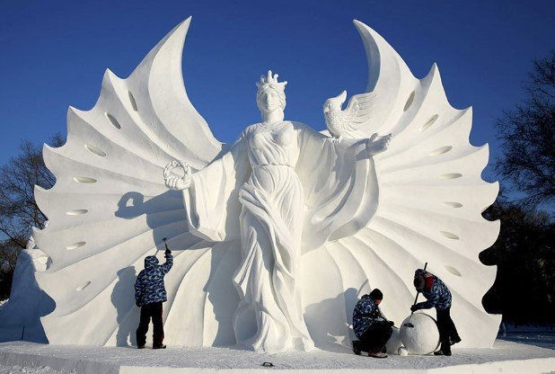 Harbin International Ice and Snow Festival 2015 7