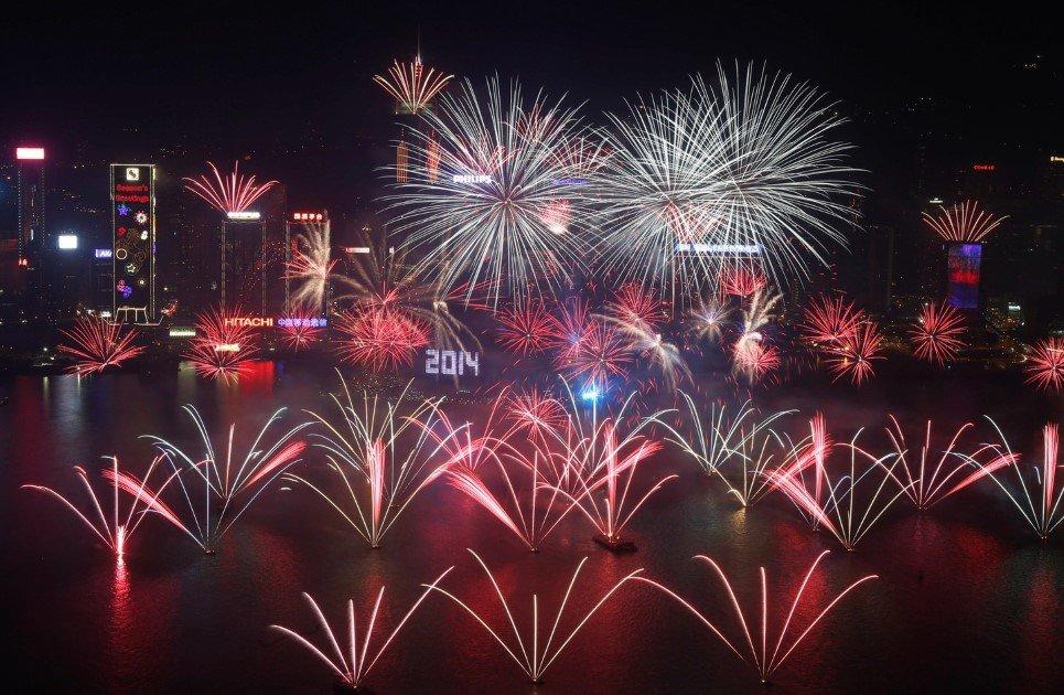 Hong Kong New Year's Eve