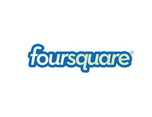 Old Logo: Foursquare