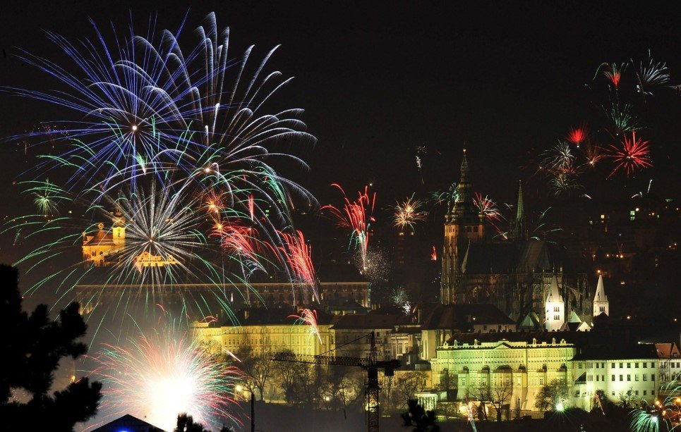 Prague New Year's Eve