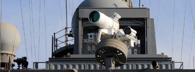 US Navy Test Fired New 30 Kilowatt Laser Weapon System