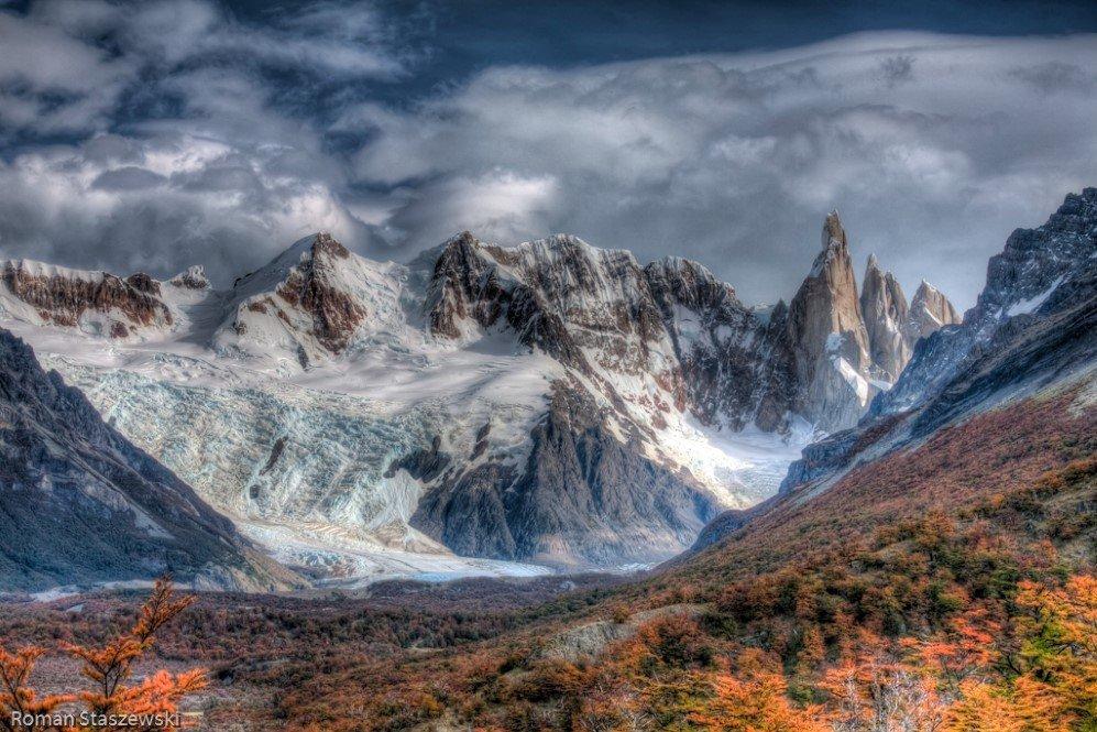 Cerro Torre Peaks