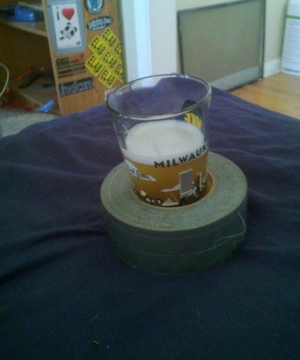1. Portable Glass Holder