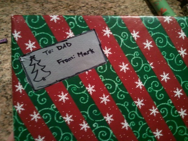10. Create a gift tag