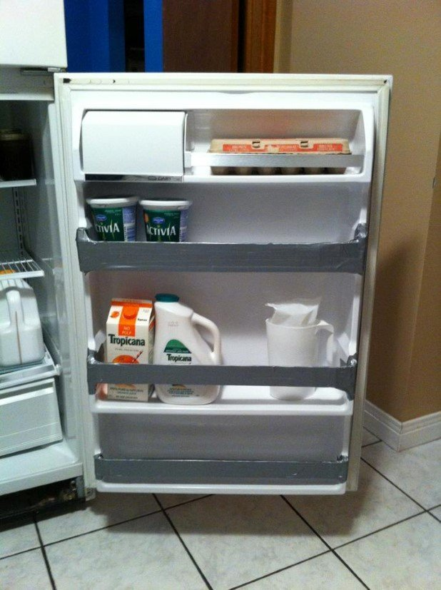 15. Fix your refrigerator