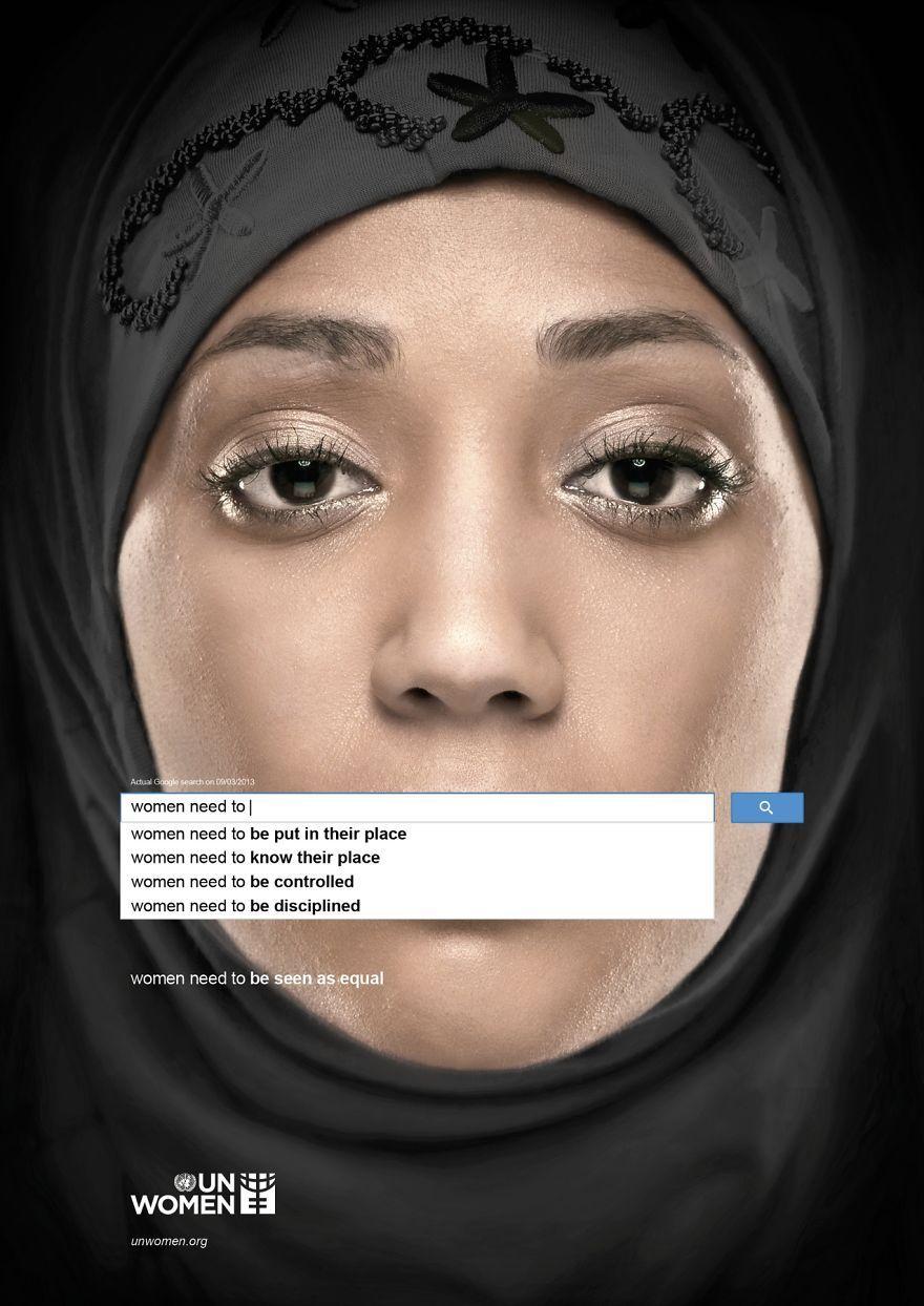UN Women: Auto-Complete Shows Perceptions of Women