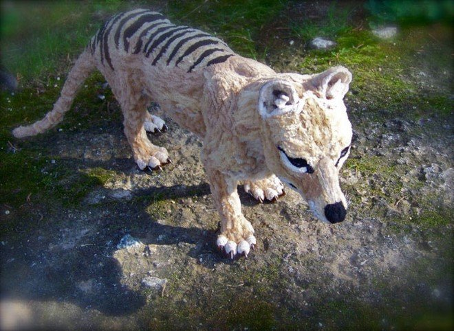 Animal Sculptures Made Entirely Out of Pipe Cleaners (8)