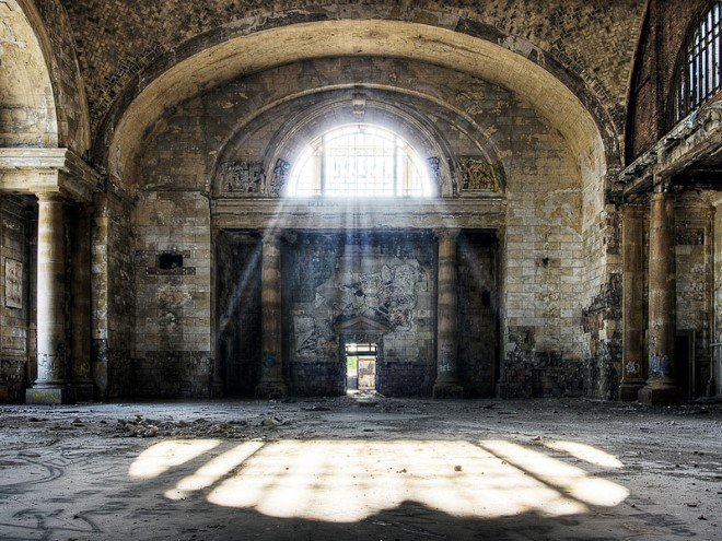 Michigan Central Station, USA (2)