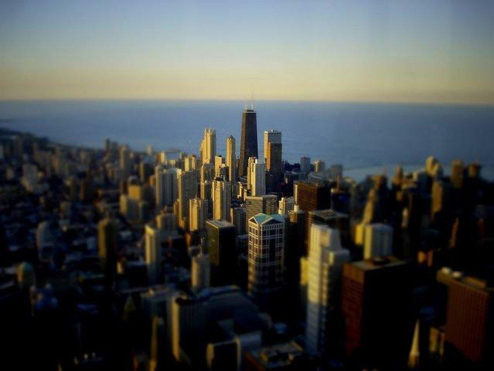 Chicago Skyline by Spencer D Hughes