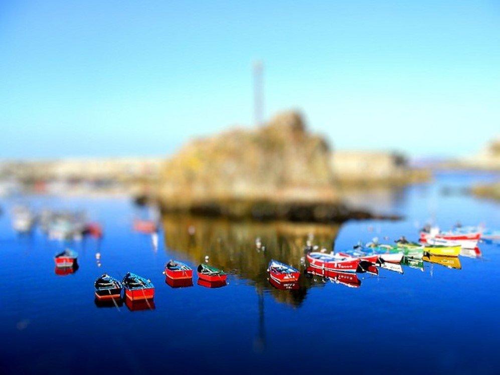 Fishing Boats by Santi MB
