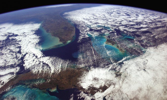 Incredible Photographs of Earth from Space by Astronaut Chris
