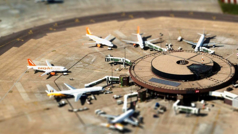 Miniature Airport by Disparkys