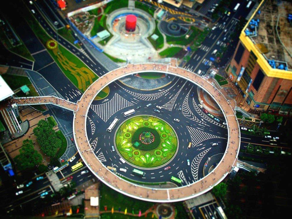 Miniature Shanghai by Nicolas Rollier