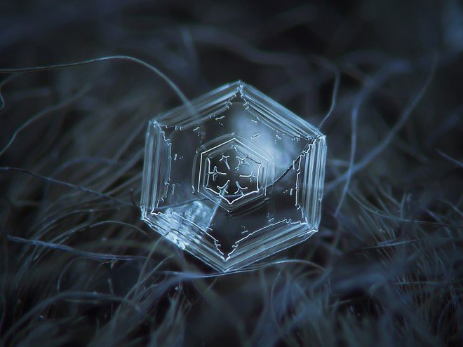 Stunning Macro Images of Snowflakes (11)