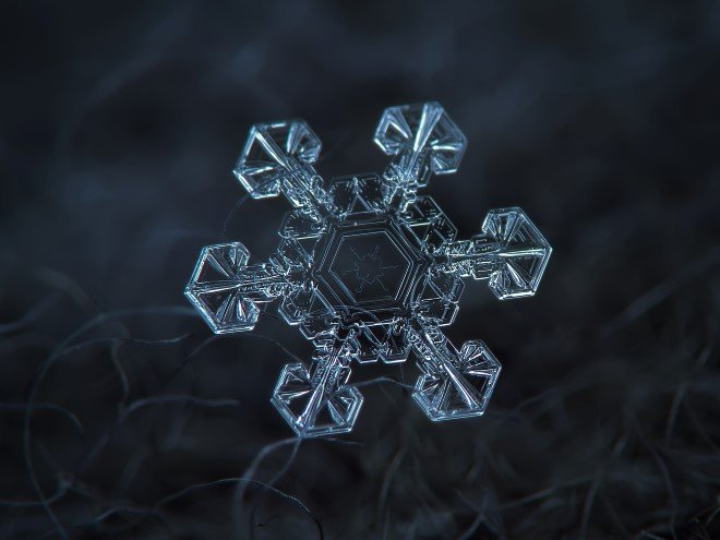 Stunning Macro Images of Snowflakes (35)