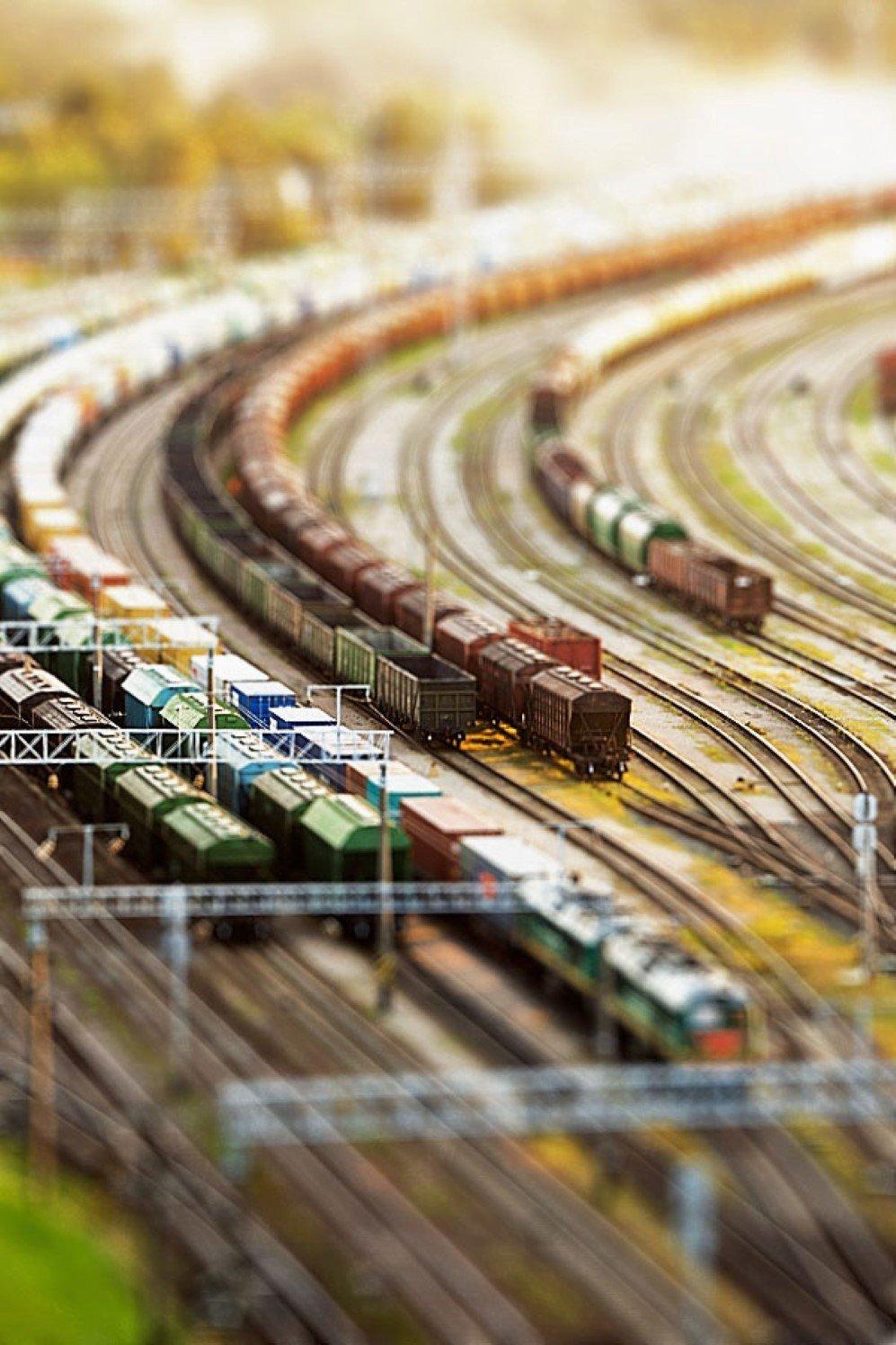 Trains by Tadao Cern