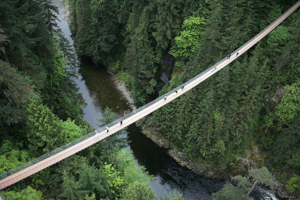 Capilano Suspension Bridge, Vancouver, Canada (1)