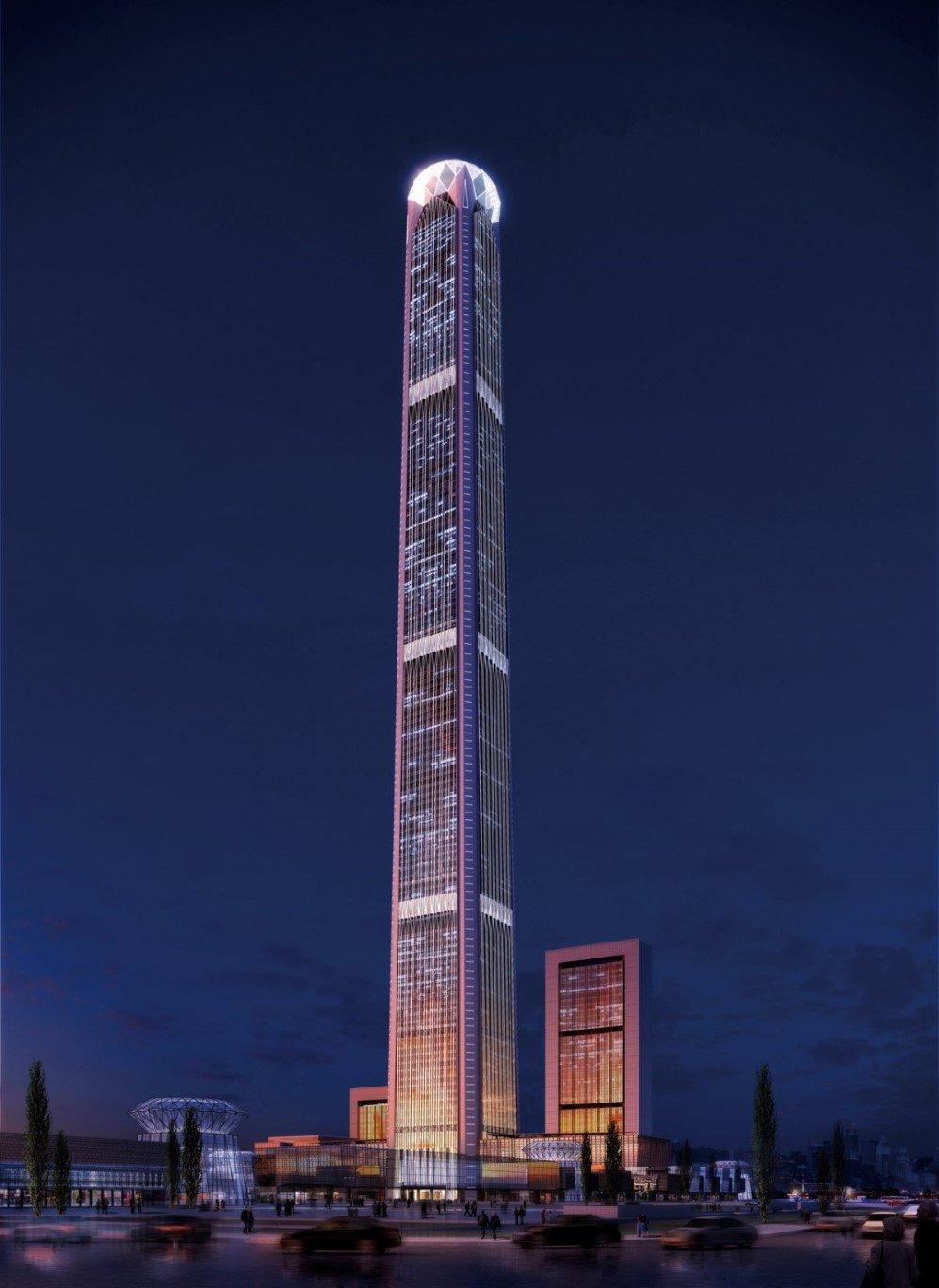 5. Goldin Finance 117, Tianjin, China