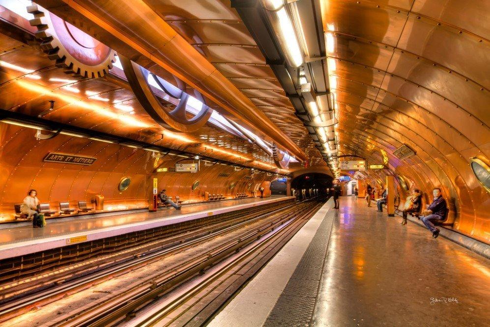 Arts Et Metiers Station