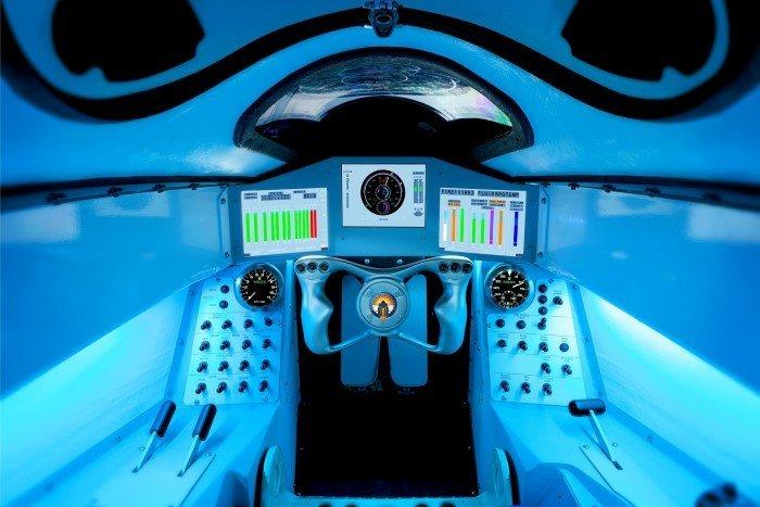 Bloodhound Cockpit