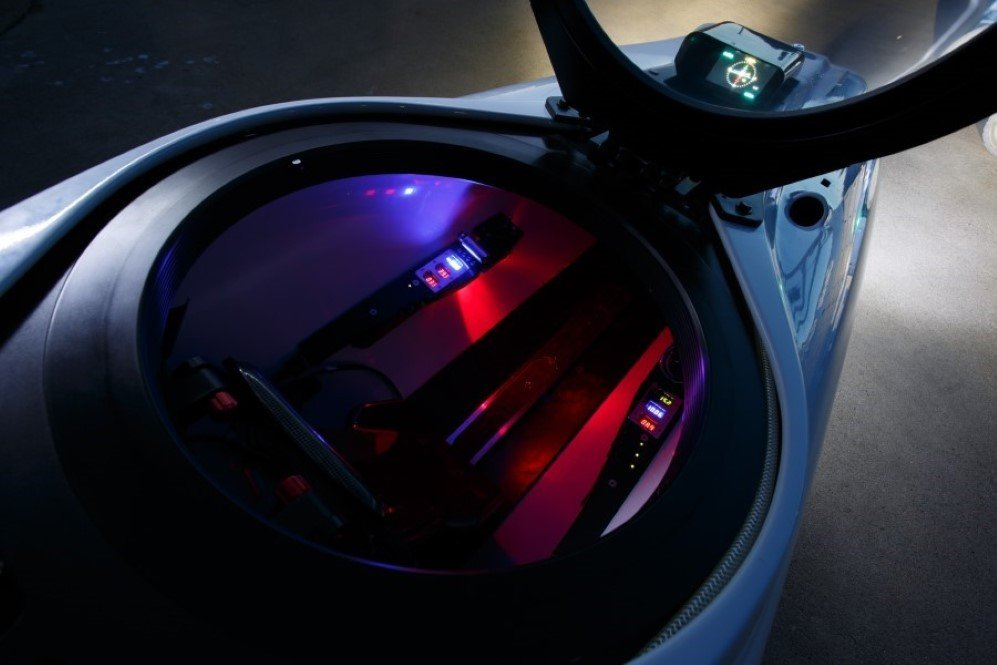 DeepFlight Super Falcon Cockpit