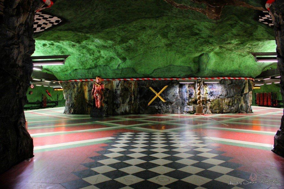 Kungstradgarden Metro Station