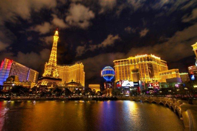 Paris View from Bellagio