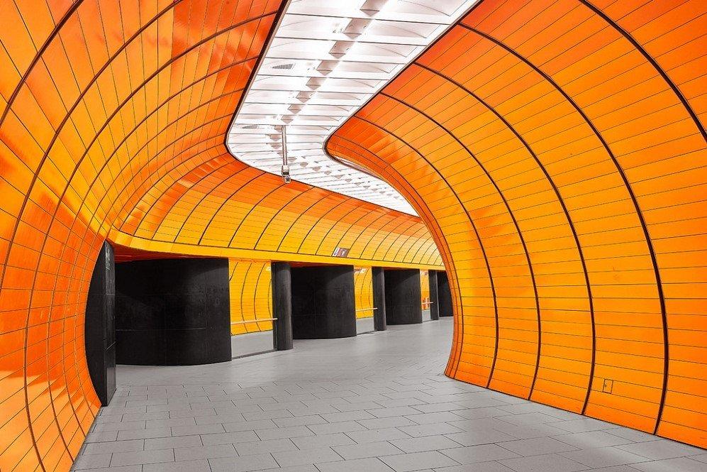 Marienplatz Station, Munich, Germany