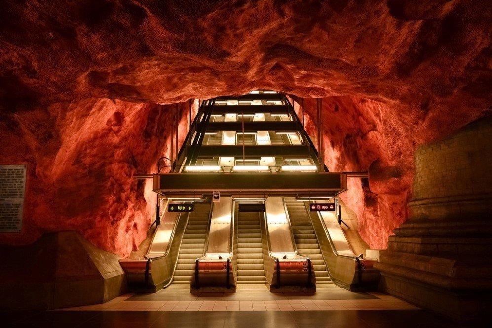 Radhuset Station, Stockholm, Sweden