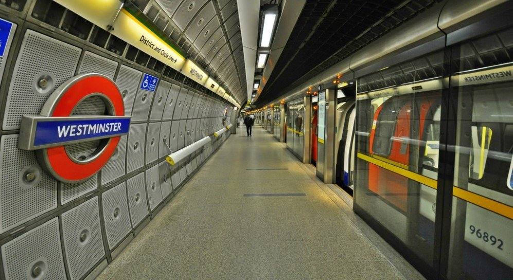 Westminster Underground Station, London, England