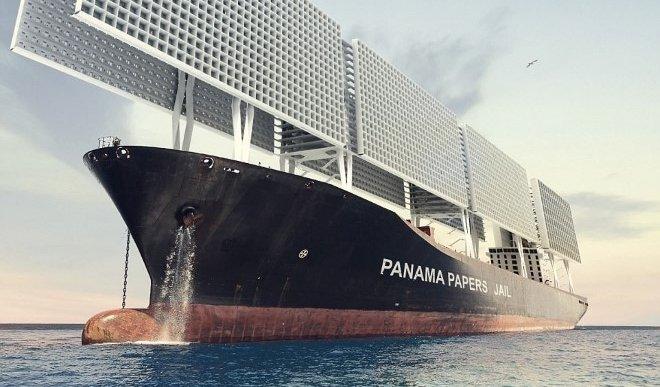 Panama Paper Culprits Jail Boat