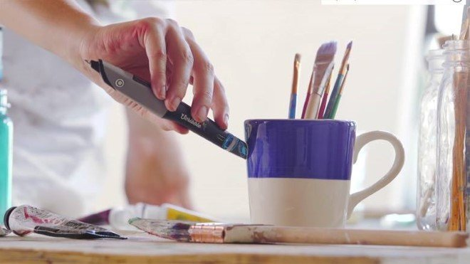 Scribble Pen Let S You Pick And Draw In Any Color Of Your