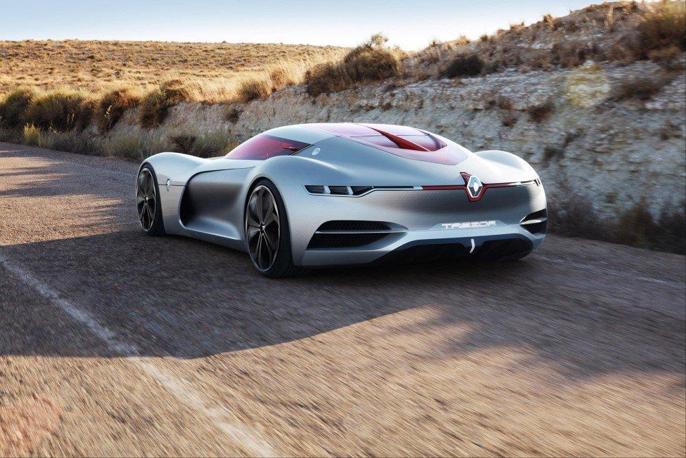 Renault electric supercar