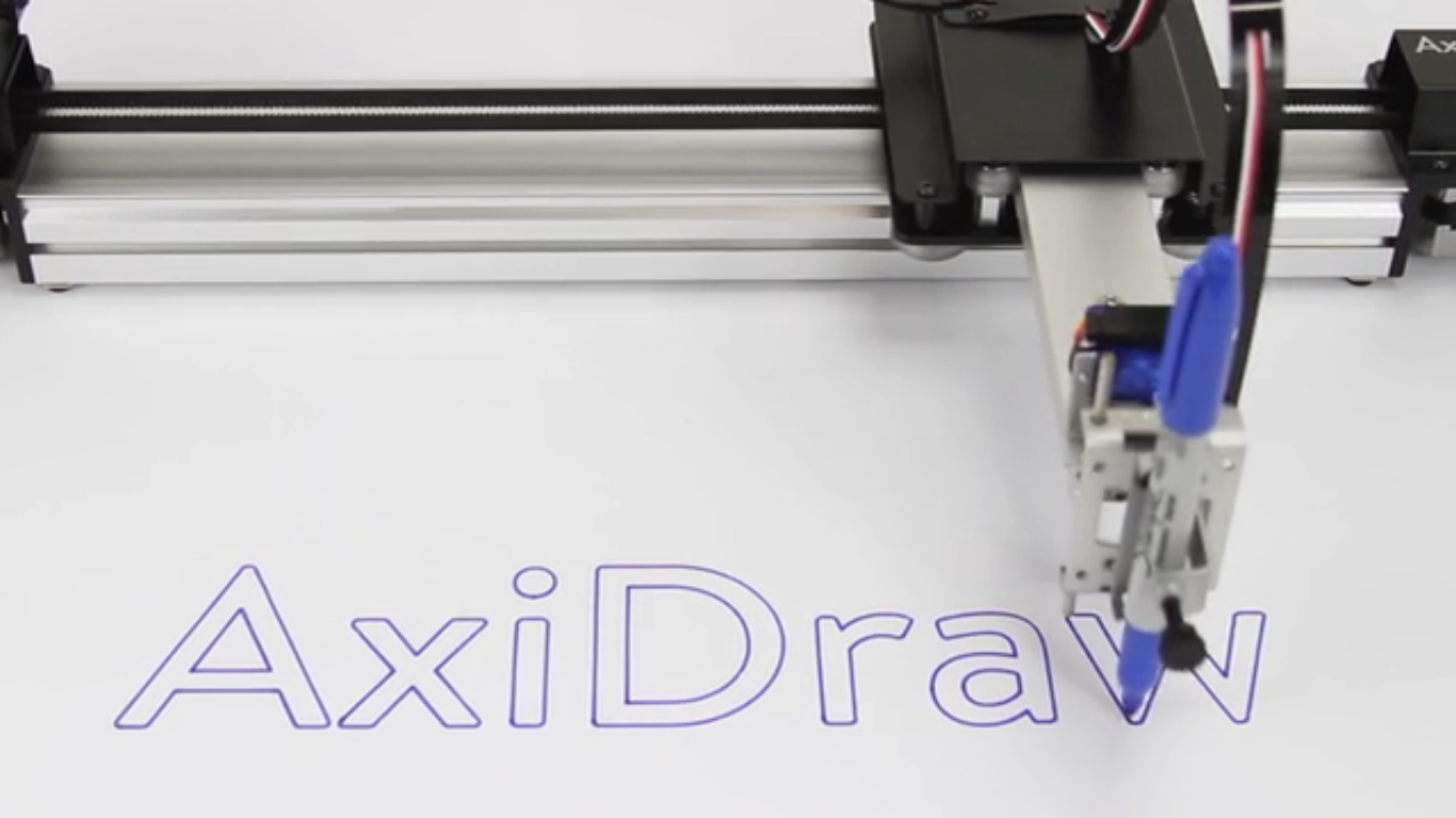AxiDraw V3', an ultra-precise writing robot to write all your