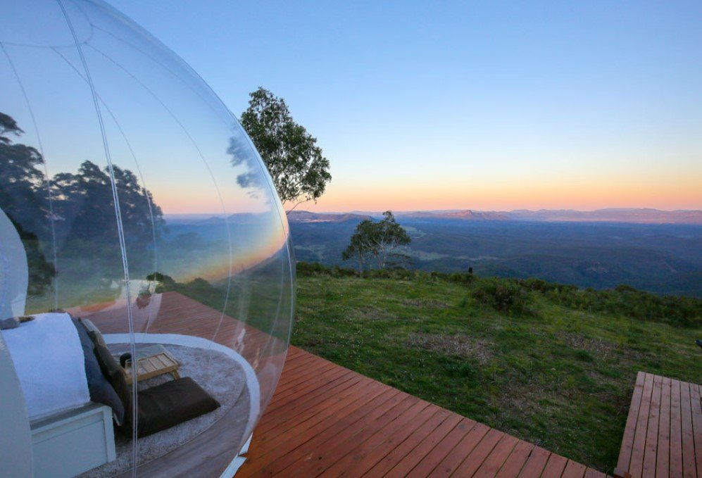 These Cozy Inflatable Bubble Tents Will Make Your Glamping
